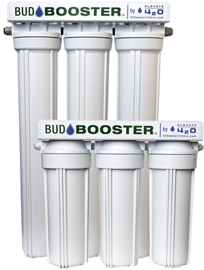 Bud Booster water filters for home and grower