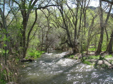 Santa Clara River at Brookside, Utah